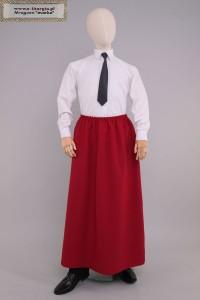 La jupe SM/rouge