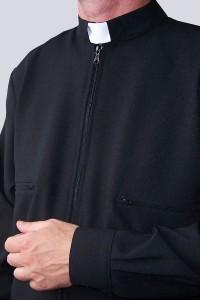 Un sweatshirt noir B1 - toile