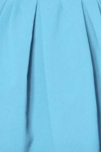 Le tissu: Bleu