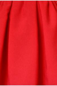 Le tissu: Rouge