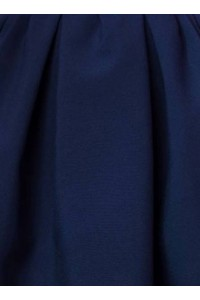 Le tissu: Bleu marine