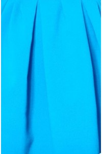 Le tissu: Bleu azur