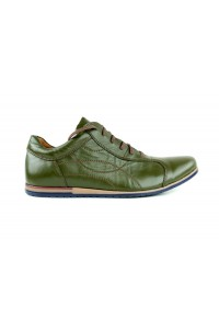 Chaussures urbaines olive