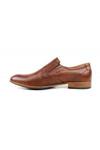 Chaussures à enfiler marron