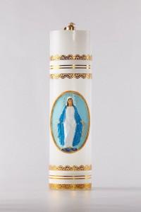 Cierge d'autel à huile [OL-1]