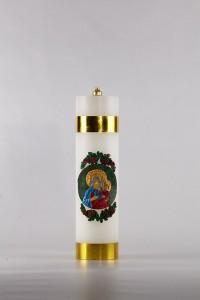 Cierge d'autel à huile [OL-3]