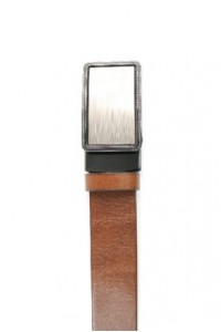 Bracelet en cuir marron...