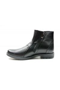 Bottes zippées noires -...