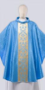 Les chasubles mariales avec ornement - Les chasubles - vetementsliturgiques.fr