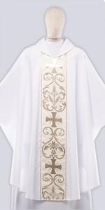 Les chasubles solennelles avec ornement - Les chasubles - vetementsliturgiques.fr
