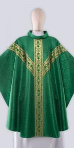 Les chasubles vertes avec ornement - Les chasubles - vetementsliturgiques.fr