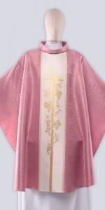 Les chasubles roses avec ornement - Les chasubles - vetementsliturgiques.fr